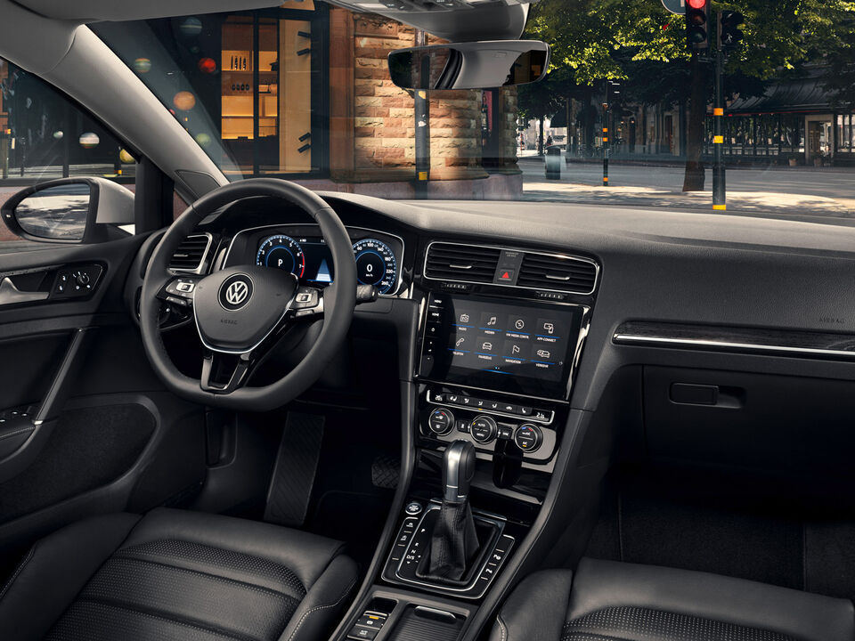vw volkswagen golf interior bord