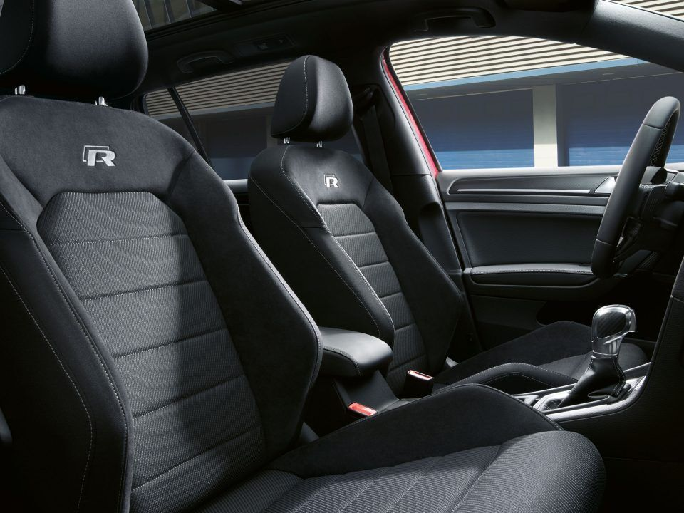 vw volkswagen golf r interior