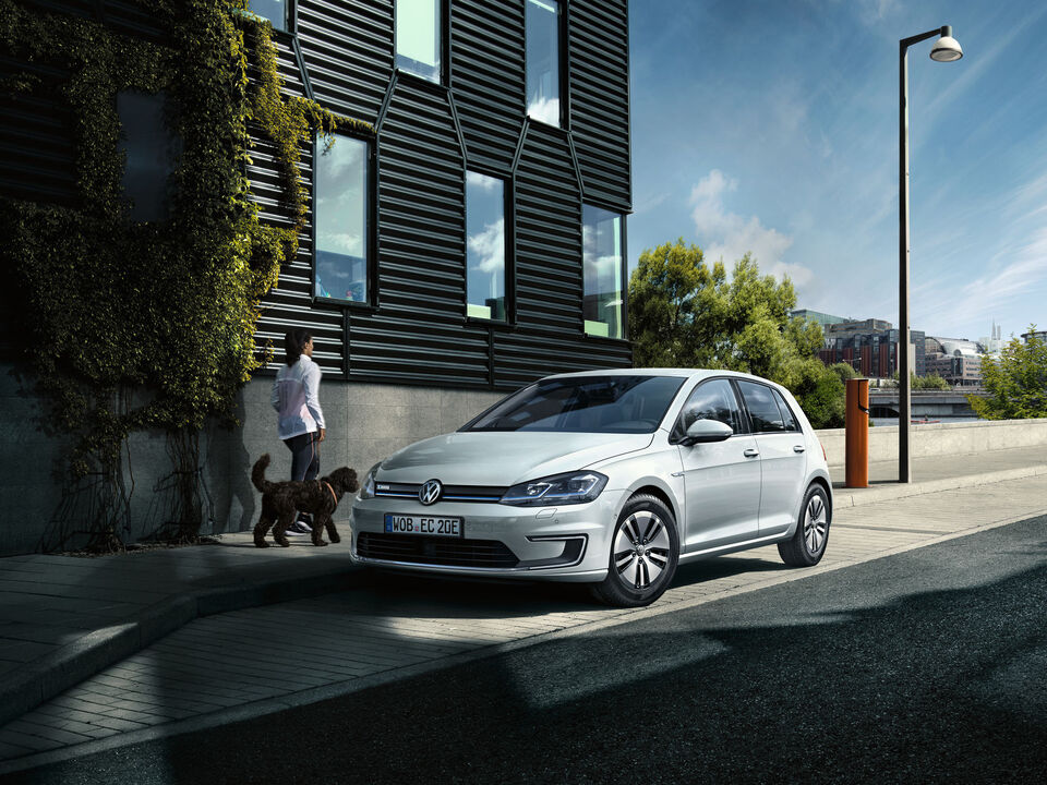 vw volkswagen automobil electric e-golf