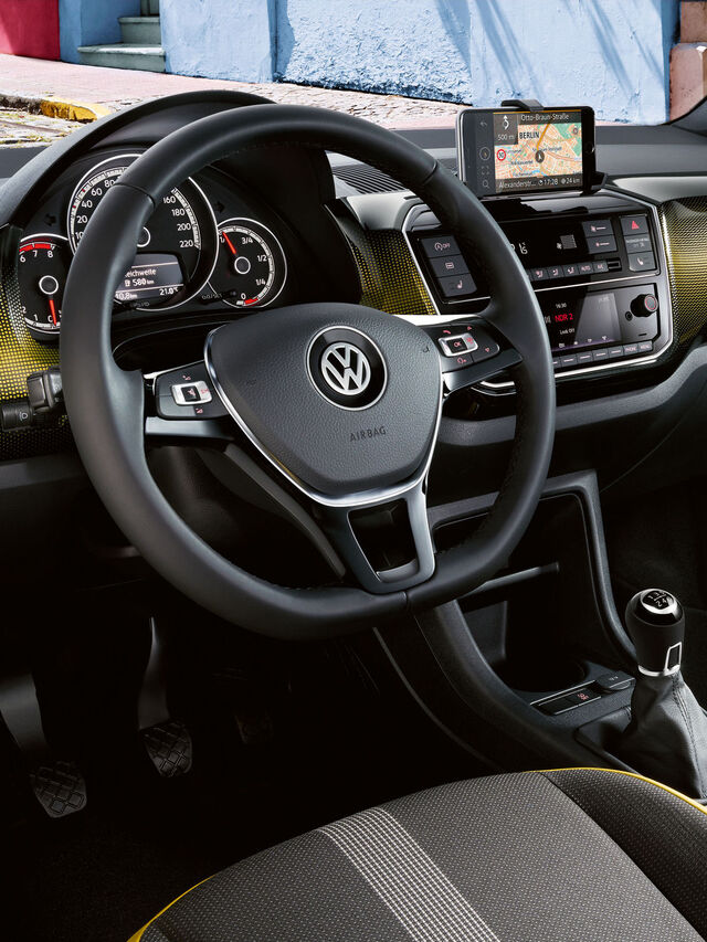 vw volkswagen up interior bord