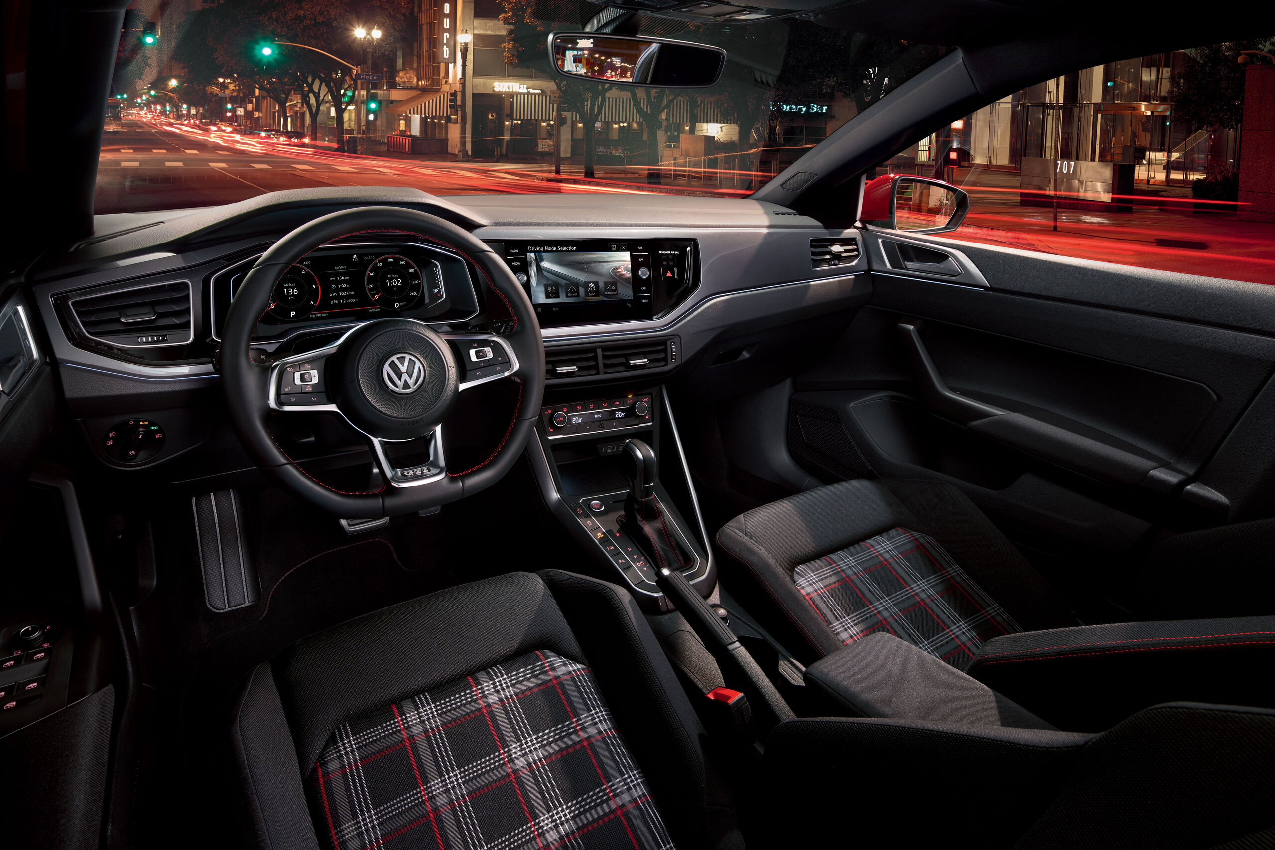 vw volkswagen polo gti interior