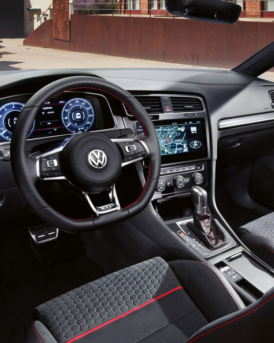 vw volkswagen golf gti interior