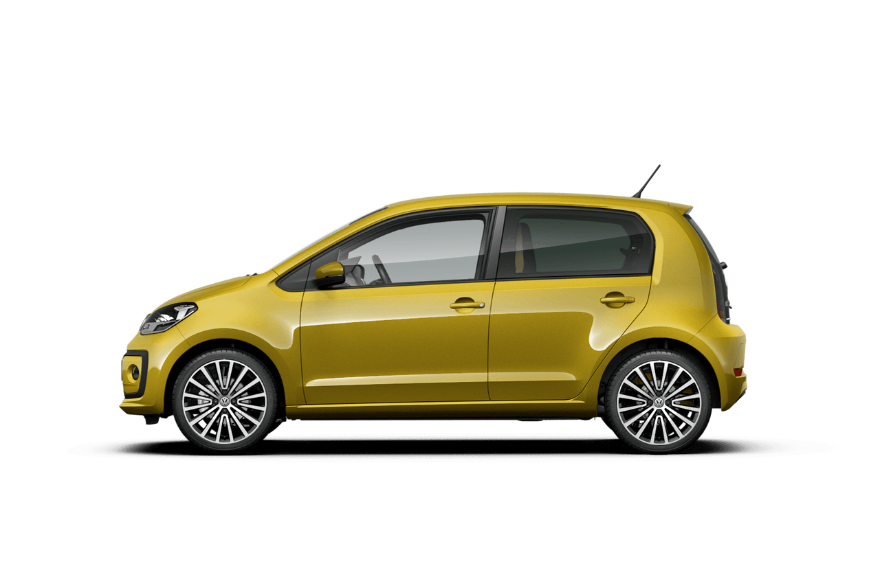 vw volkswagen up galben profil
