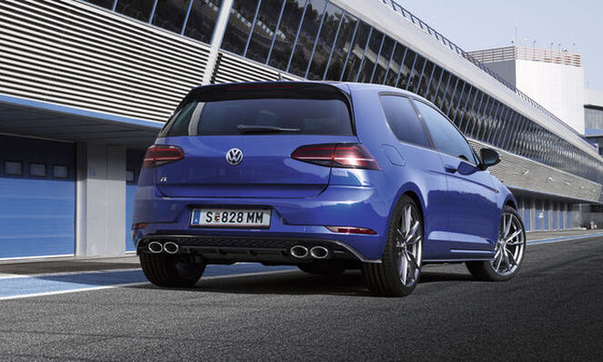 Sistem de evacuare Titan VW Golf R R-Performance